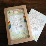 Colouring in cards - box of 8