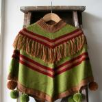 Kiddies poncho from Peru