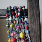 Paper bead necklace - Uganda