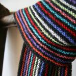 Alpaca scarf Striped