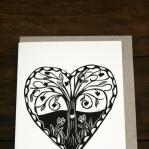 Gift card - love heart